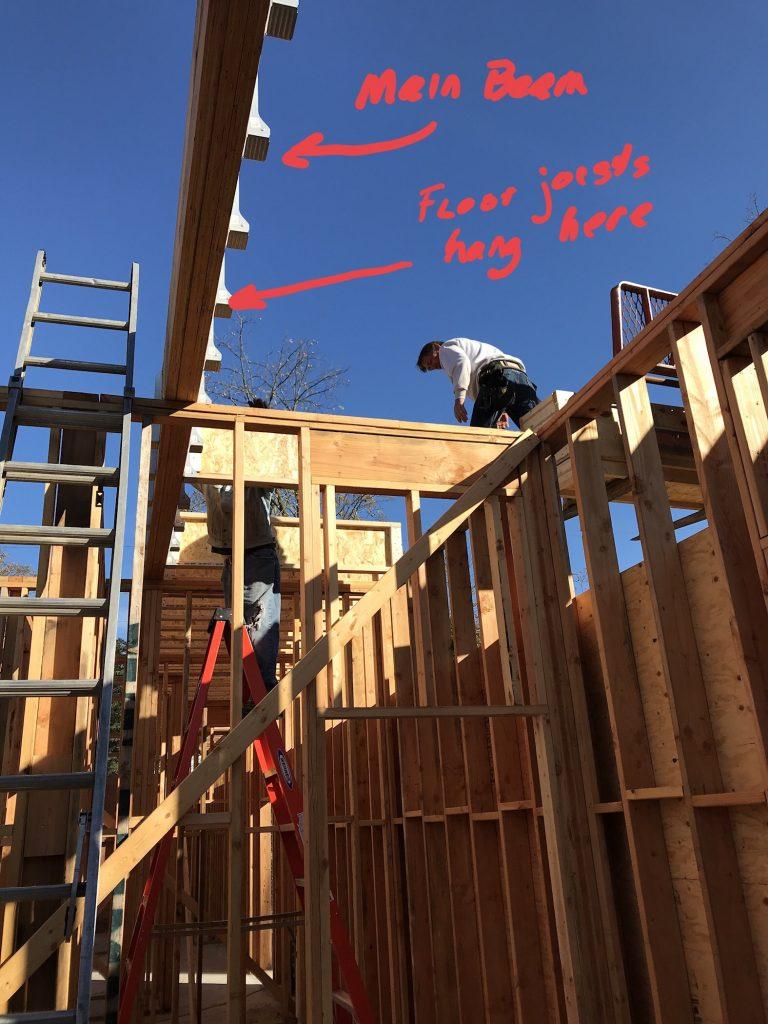 second floor support